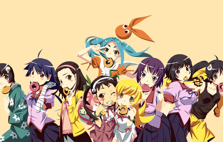 Photo wallpaper anime, asian, manga, japanese, by noerulb, Owarimonogatari