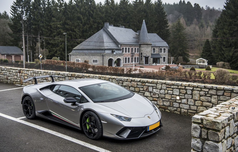 Photo wallpaper Lamborghini, Performante, Huracan