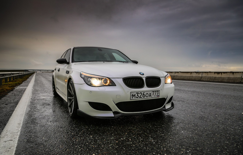 Photo wallpaper auto, BMW, Machine, Asphalt, BMW, Dampness