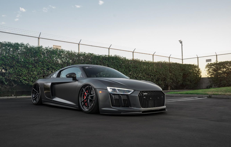 Photo wallpaper Audi, v10, Build, 2016, Boden