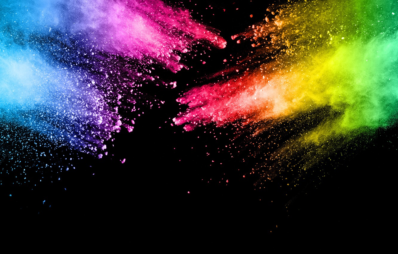 Wallpaper Squirt Background Paint Black Colors Colorful Abstract Splash Images For Desktop Section Abstrakcii Download