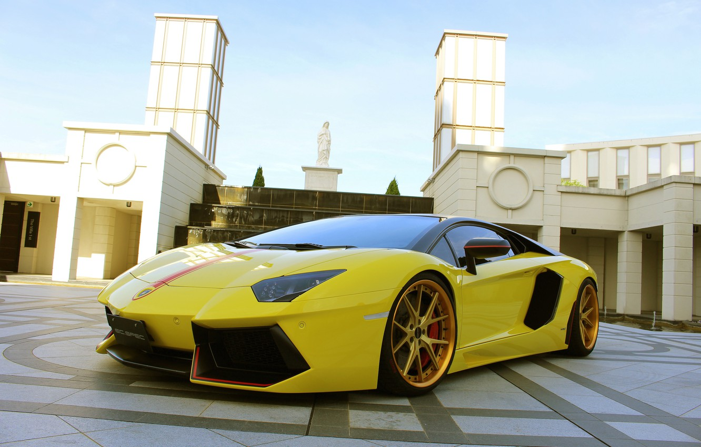 Photo wallpaper Lamborghini, Aventador, Pirelli, Edition, HyperForged