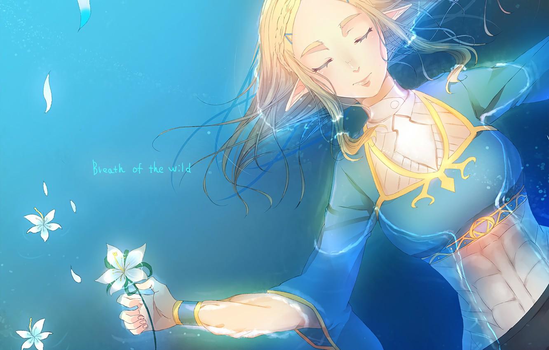 Wallpaper Girl Game Flower Zelda Hana The Legend Of Zelda