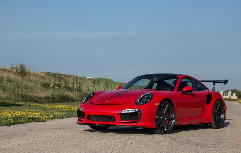 Photo wallpaper 911, Porsche, Vorsteiner, Turbo, V-RT