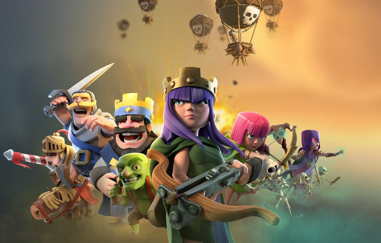 Wallpaper Games Supercell Clash Royale Images For Desktop Section Igry Download