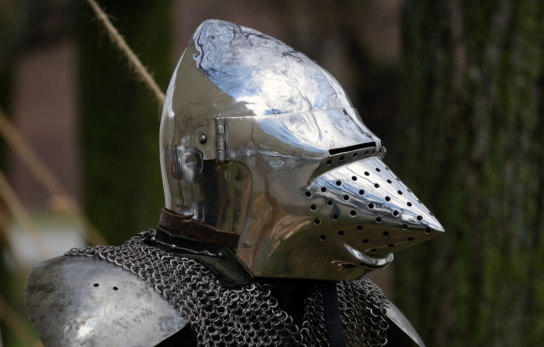 Photo wallpaper armor, helmet, mail