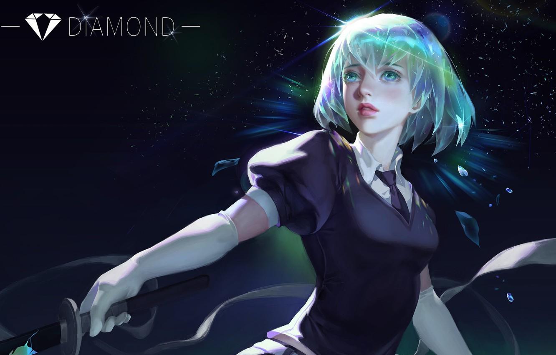 Photo wallpaper Diamond, 0 0, And Xun