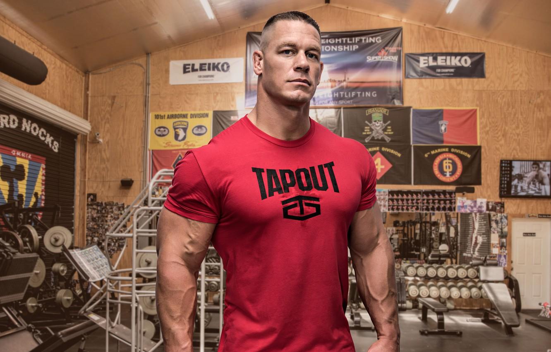 Wallpaper Actor Muscle Muscle Wrestler Wwe Gym John Cena