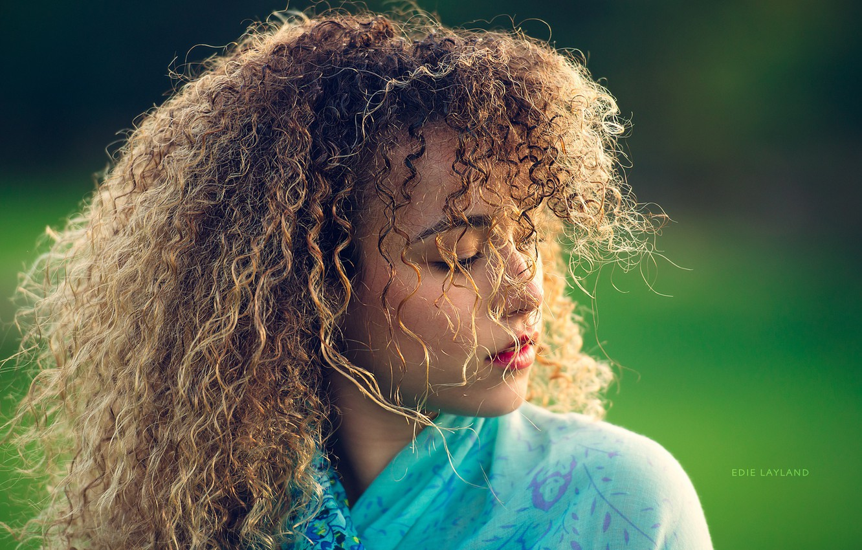 Photo wallpaper girl, beautiful, devushka