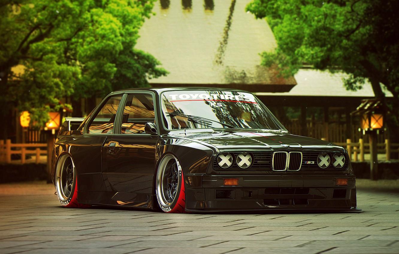 Photo wallpaper BMW, Tuning, Future, E30, by Khyzyl Saleem