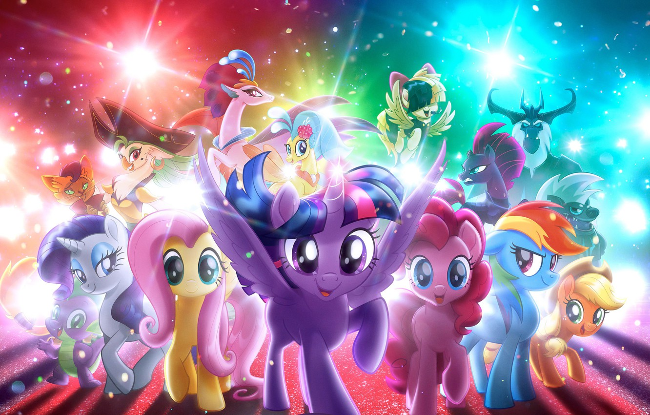 Wallpaper Wings My Little Pony Animated Film Pony