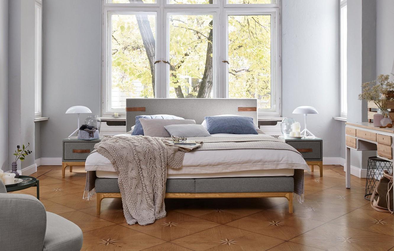 Photo wallpaper room, interior, bedroom