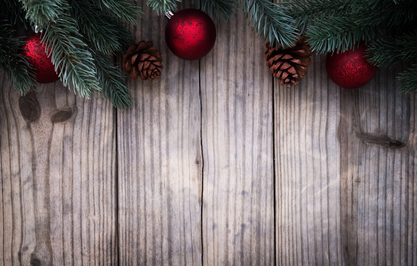 Photo wallpaper toys, spruce, New year, Holiday