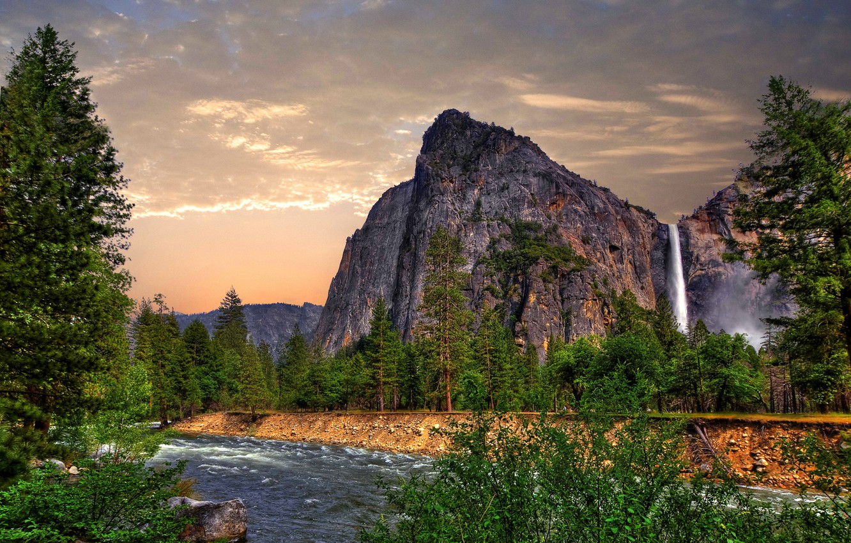 Wallpaper Landscape Mountains Hdr Usa Ca California