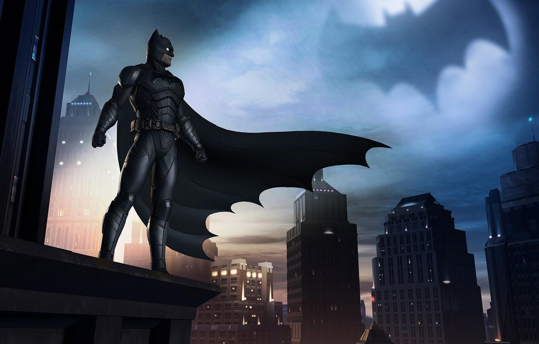 Photo wallpaper game, Batman, dark knight, hero, DC Comics, Telltale Games, cape, Gotham, guardian, batsuit, Batman: The …