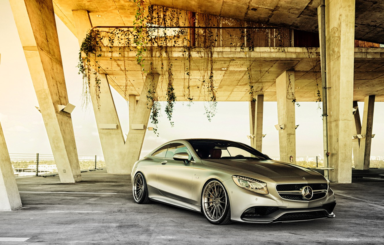 Photo wallpaper coupe, Mercedes-Benz, Mercedes, AMG, Coupe, S-Class, C217