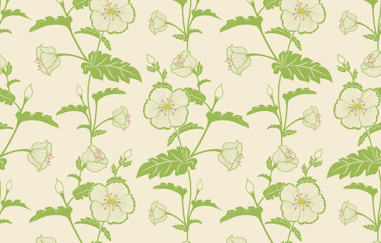 Photo wallpaper vector, flower, wallpapers, background, pattern, elegant, seamless, textile