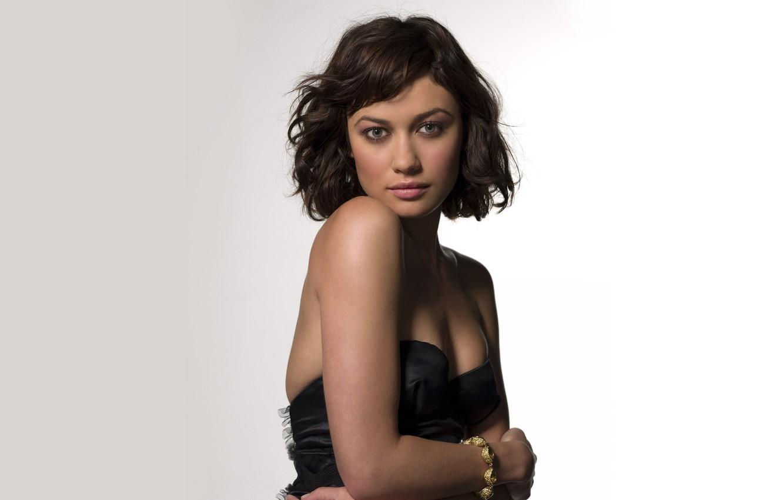 Photo wallpaper look, celebrity, brunette, Olga Kurylenko