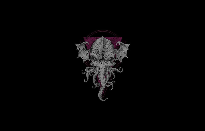 Photo wallpaper Cthulhu, horror, Cthulhu, Lovecraft