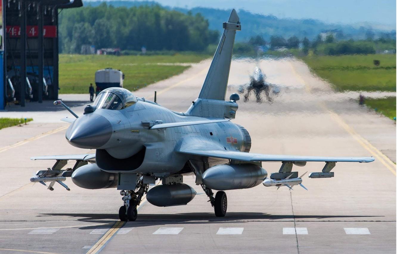 Photo wallpaper China, fighter, Airplane, J-10