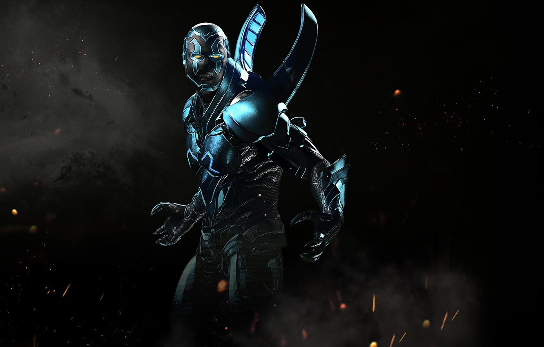 Wallpaper game, fighting, Blue Beetle, NetherRealm Studios