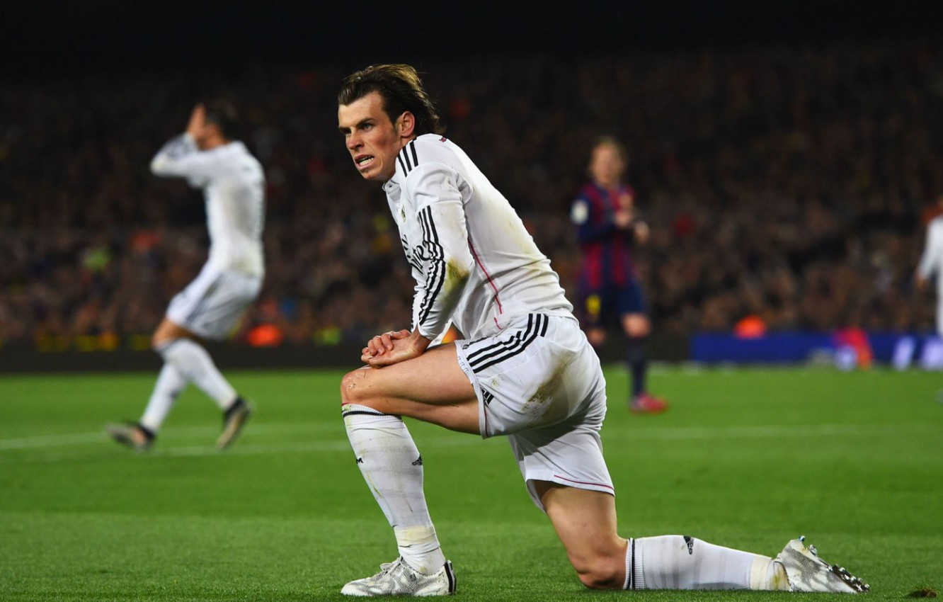 Photo wallpaper Speed, Football, Real Madrid, Gareth Bale, Alex Ander Favorsky