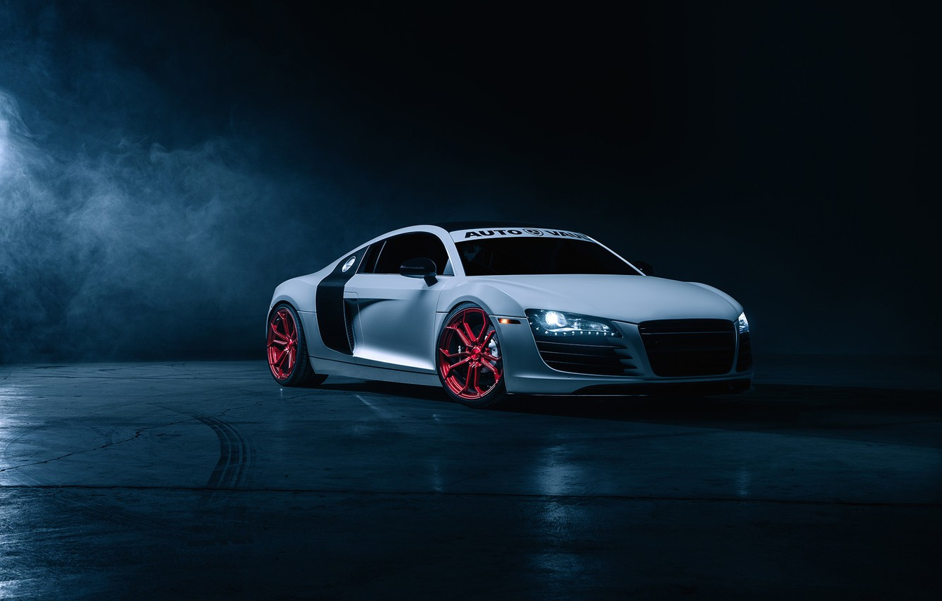 Photo wallpaper Audi, Car, Front, Wheels, Before, Garde