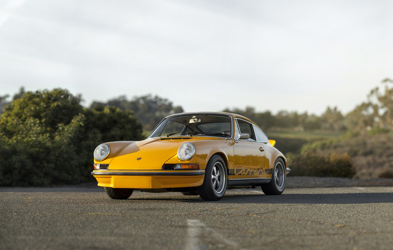 Photo wallpaper 911, Porsche, Carrera, Touring, 1973, 2.7