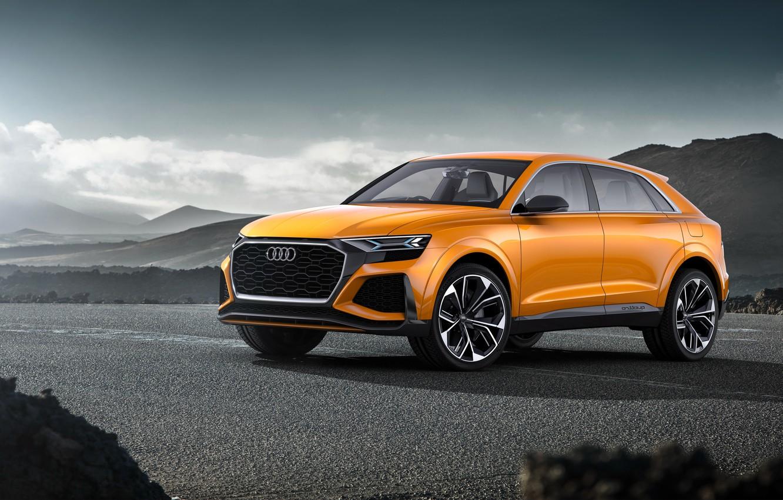 Photo wallpaper Concept, Audi, Audi, the concept, crossover