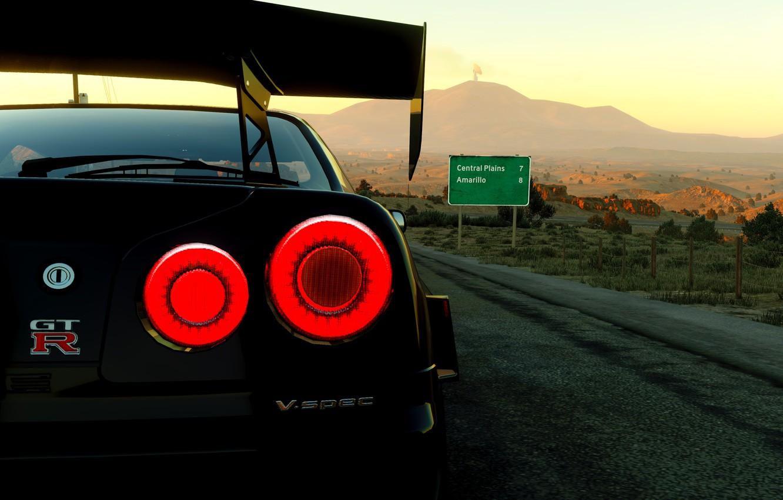 Wallpaper Car Game Black Skyline Gtr Images For Desktop Section Igry Download