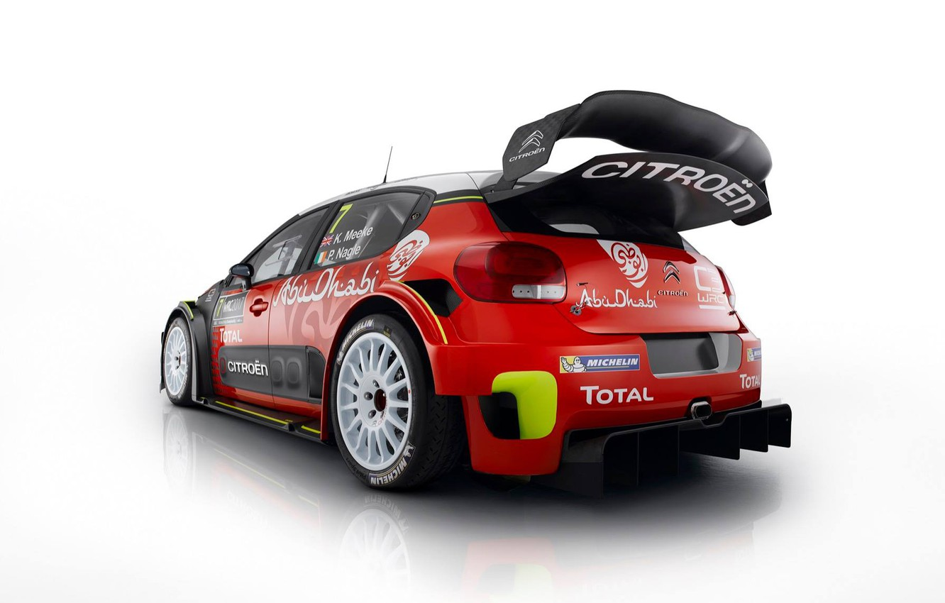 Photo wallpaper Citroen, WRC, new