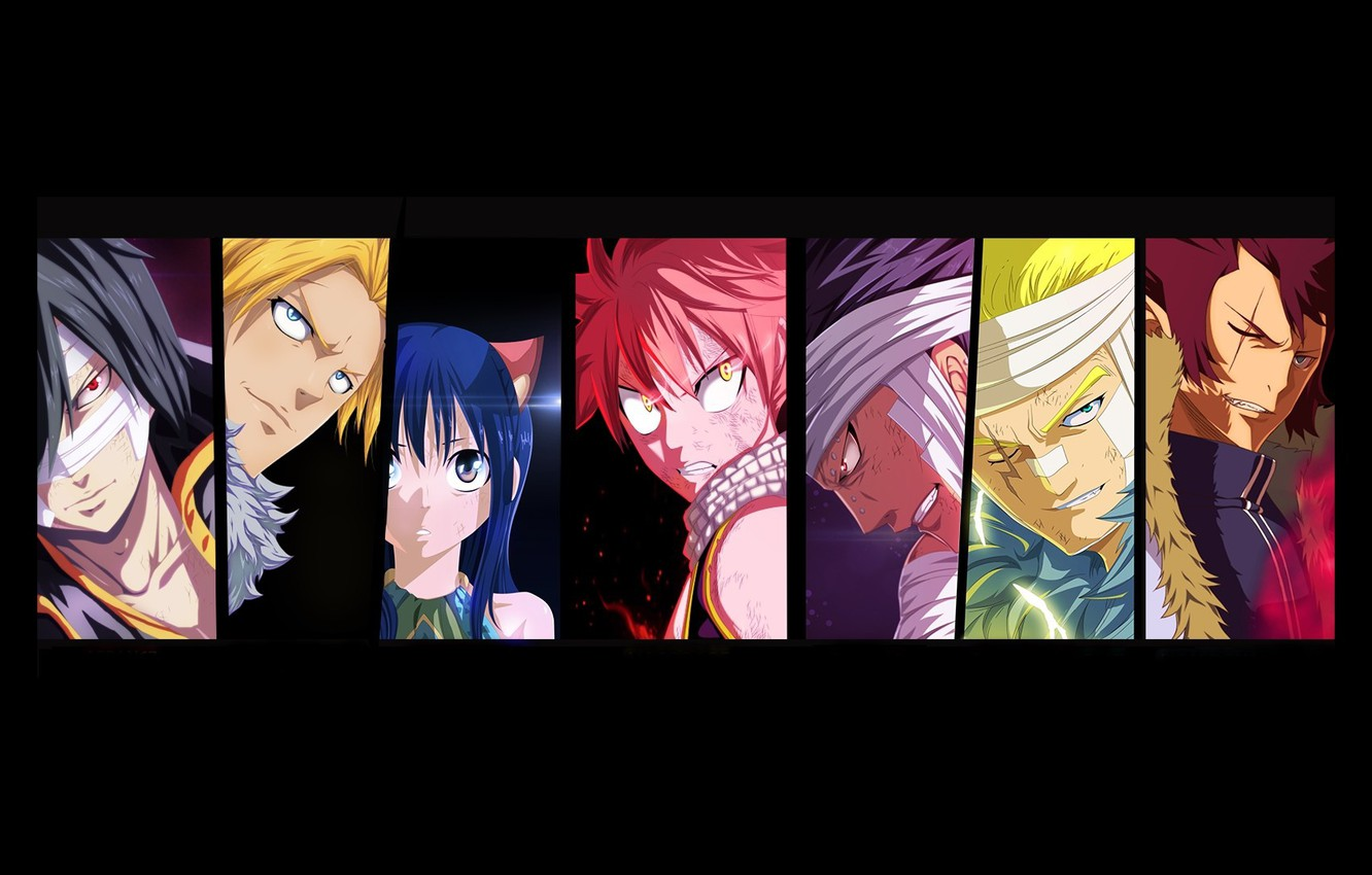 Wallpaper Cobra Rogue Dragon Wendy Sting Fairy Tail Natsu