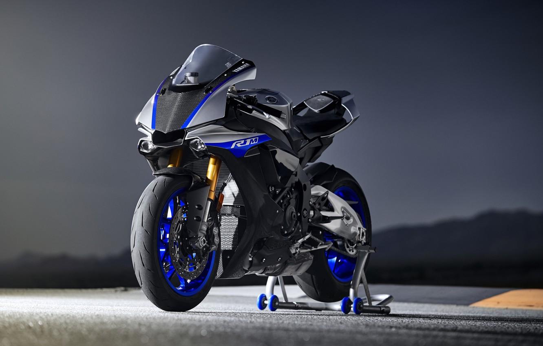 Photo wallpaper bike, Yamaha, 2018, YZF, R1M