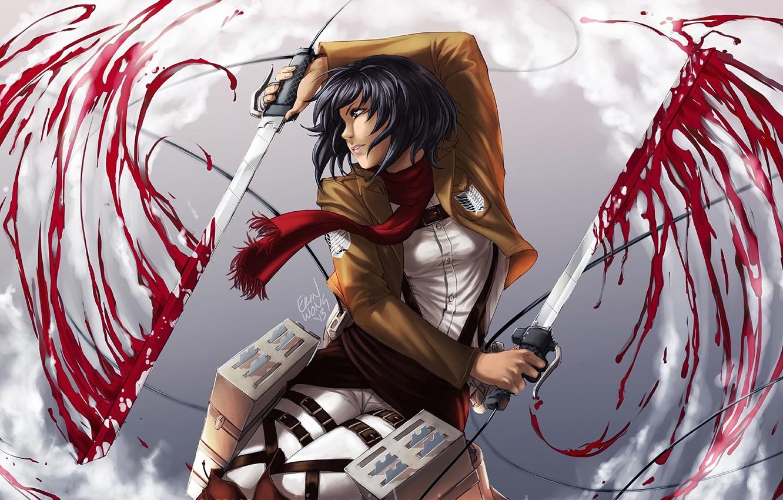 Wallpaper Art Shingeki No Kyojin Attack Of The Titans