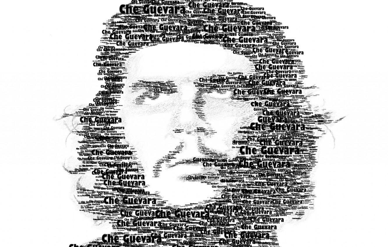 Photo wallpaper men, revolution, che