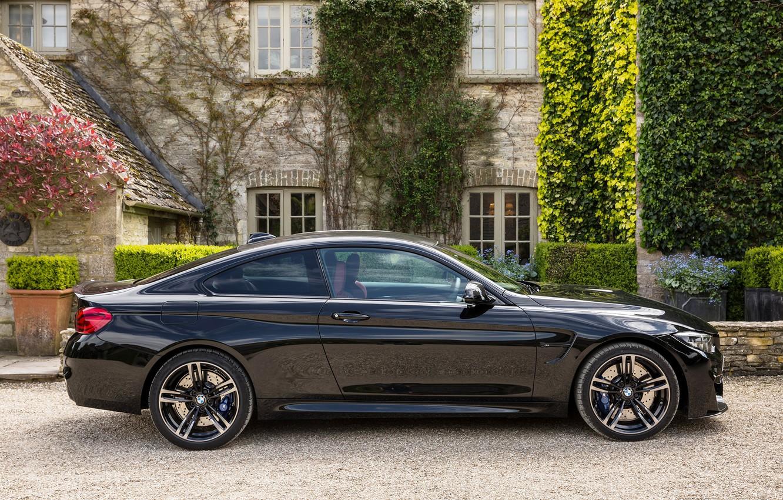 Photo wallpaper black, BMW, M4