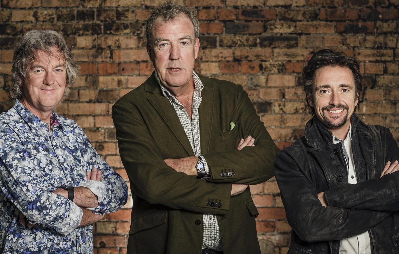 Photo wallpaper Jeremy Clarkson, Jeremy Clarkson, Richard Hammond, James Daniel May, James May, the British, transfer, Richard …
