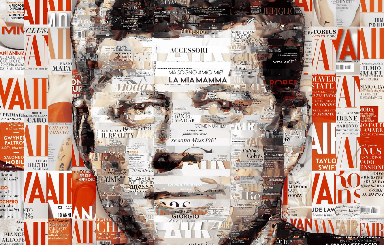 Wallpaper Mosaic, USA, John, John, Kennedy, Kennedy