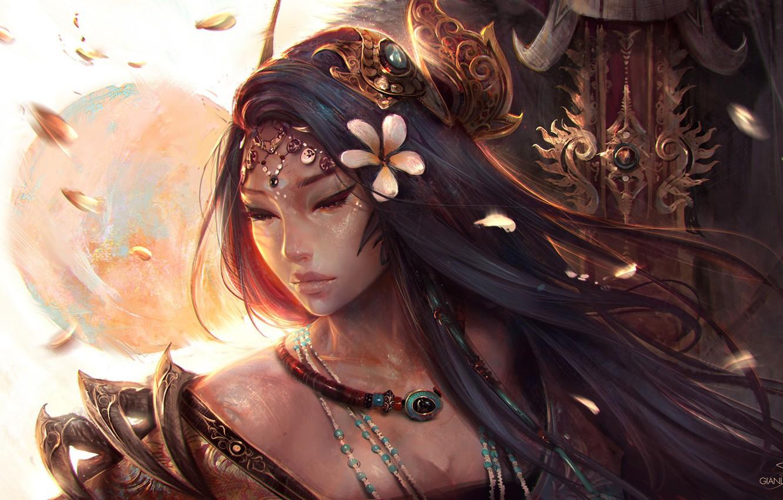Asian fantasy art women warriors idea and