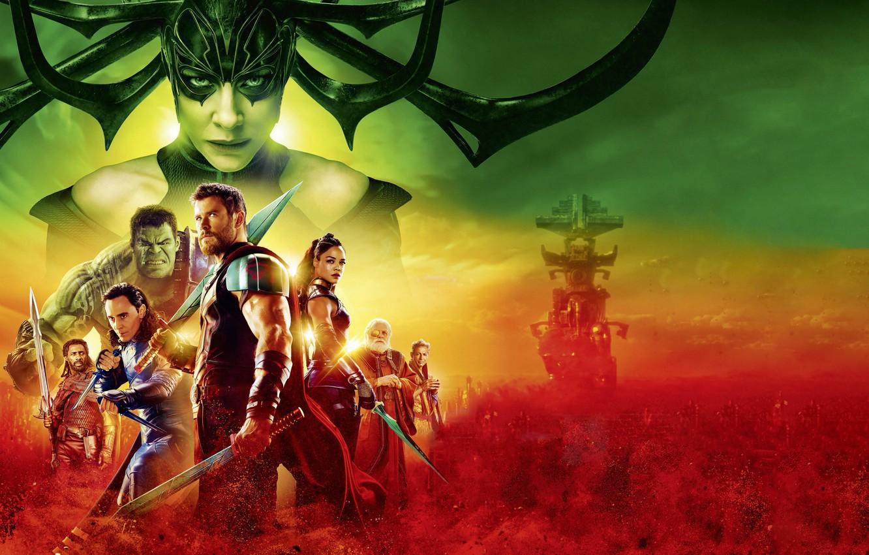 Wallpaper Hulk Ragnarok Lightning Warrior Gladiator Marvel