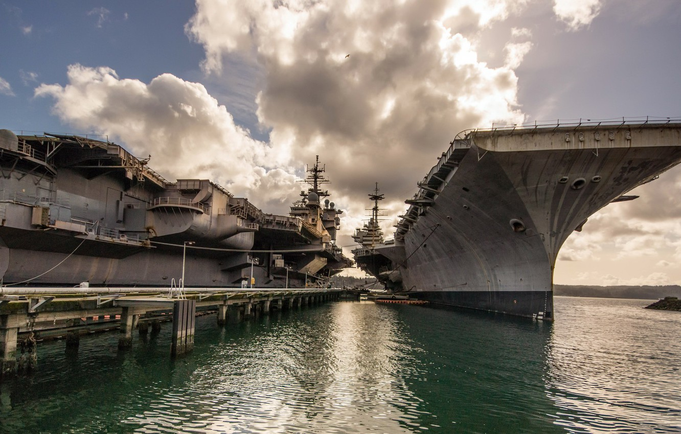 Photo wallpaper weapons, army, Navy, USS Independence
