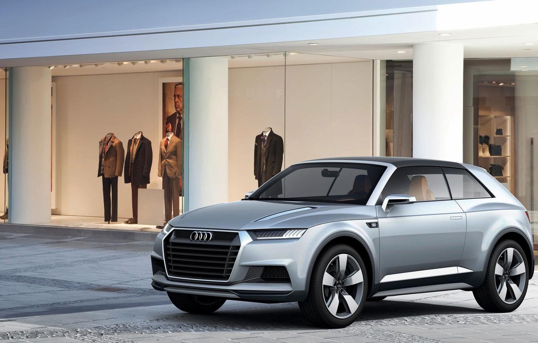 Photo wallpaper Concept, Audi, Coupe, Crossline