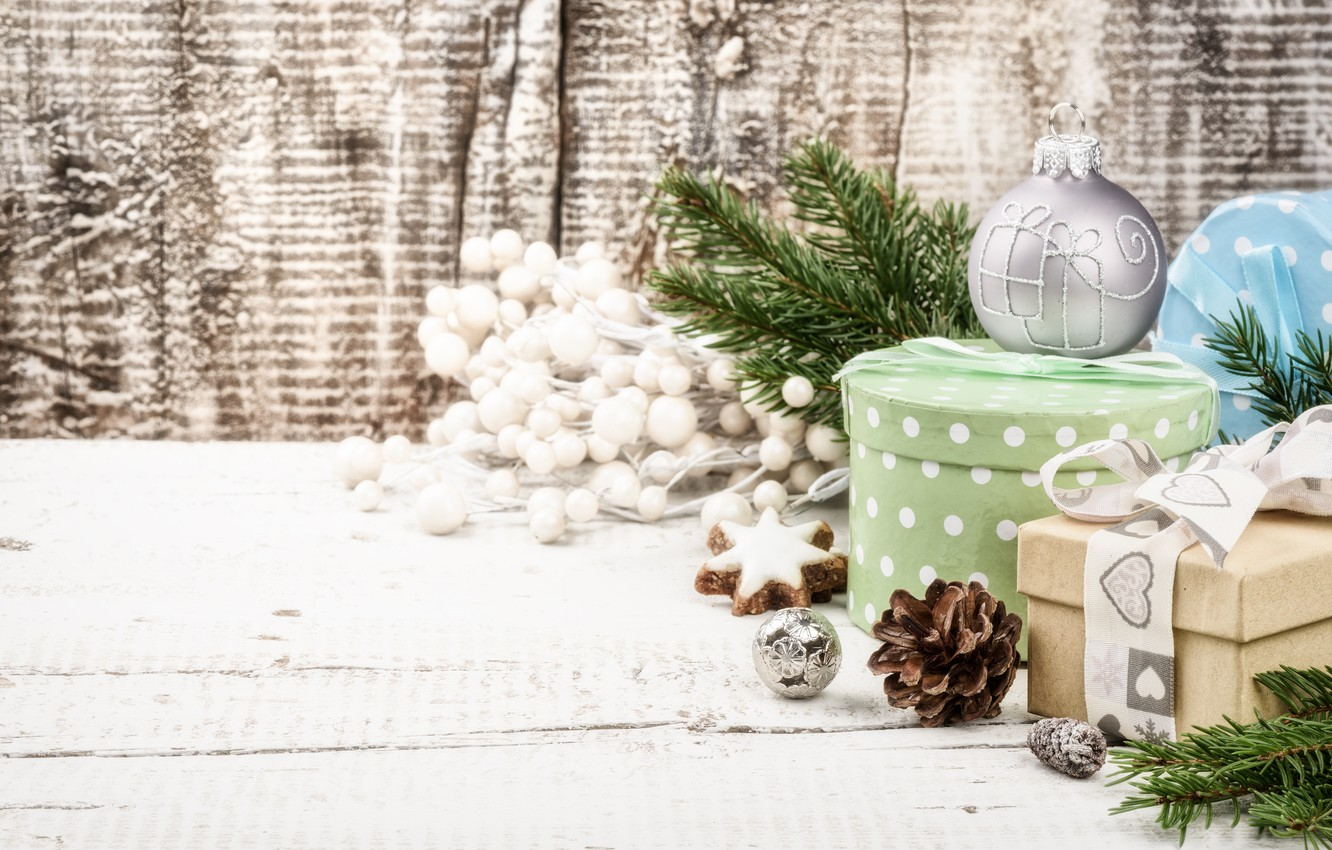 Photo wallpaper decoration, tree, New Year, cookies, Christmas, gifts, happy, Christmas, bumps, New Year, Merry Christmas, Xmas, …