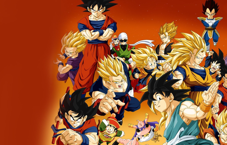 Photo wallpaper alien, anime, man, martial artist, manga, Son Goku, kimono, Dragon Ball, Goku, Gohan, Dragon Ball …
