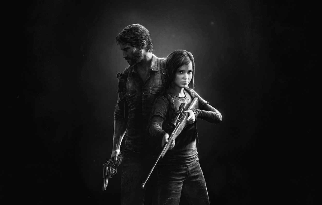 Photo wallpaper Ellie, Game, The Last of Us, Joel, Naughty Dog, Joel, Ellie, Sony Computer Entertainment, Some …