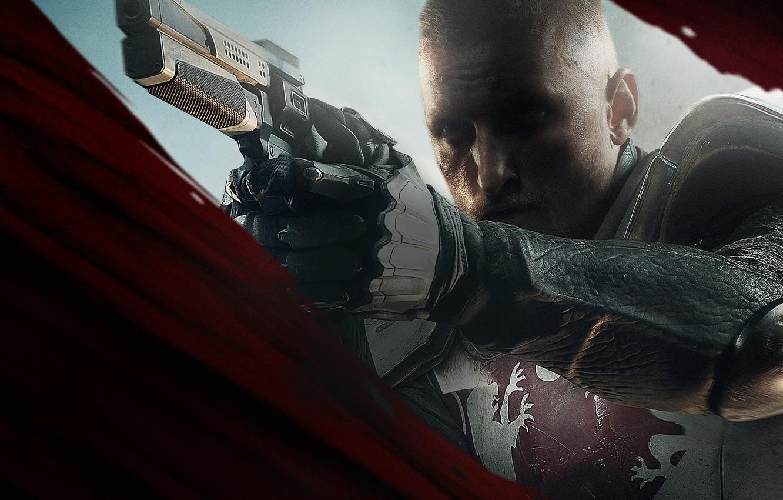 Photo wallpaper Look, Weapons, Armor, Bungie, Activision, Destiny, Equipment, Titan, Destiny 2