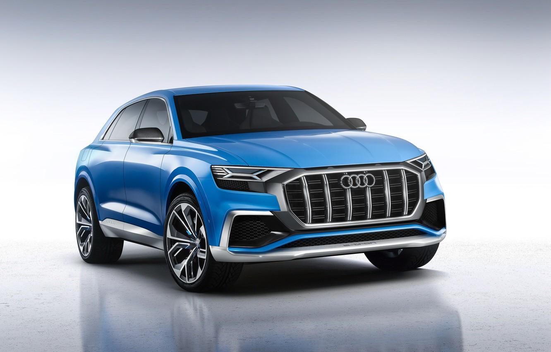 Photo wallpaper Concept, background, Audi, Audi, the concept, krossver