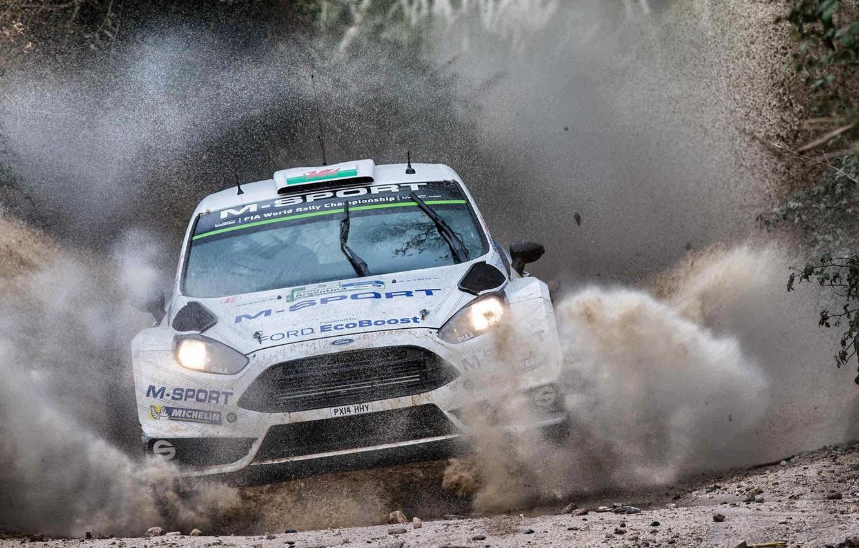 Photo wallpaper squirt, Ford, WRC, Rally, Fiesta