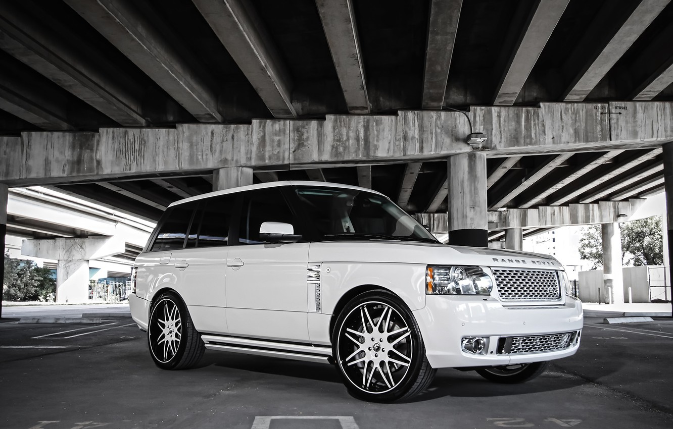Photo wallpaper Range Rover, with, body, Autobiography, kit, full, HSE