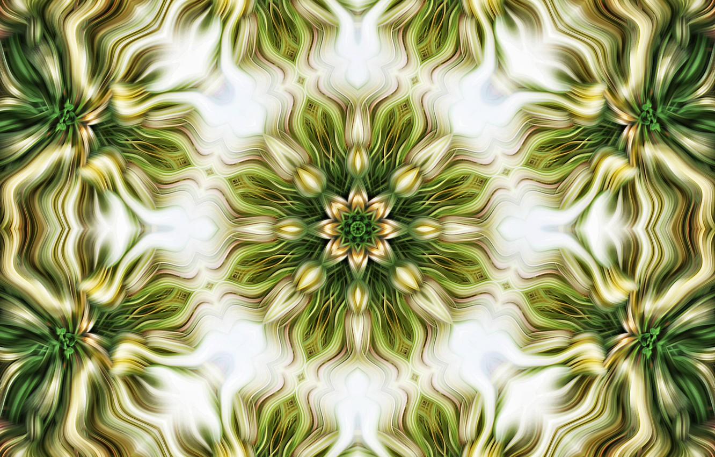Photo wallpaper pattern, symmetry, kaleidoscope